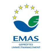 Auszeichnung EMAS geprüftes Umweltmanagement