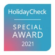 Auszeichnung HolidayCheck Special Award