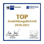 Auszeichnung Top Ausbildungsbetrieb 2018-2021