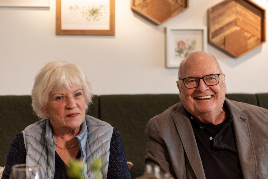 Portrait Rosemarie und Helmut Buchnas