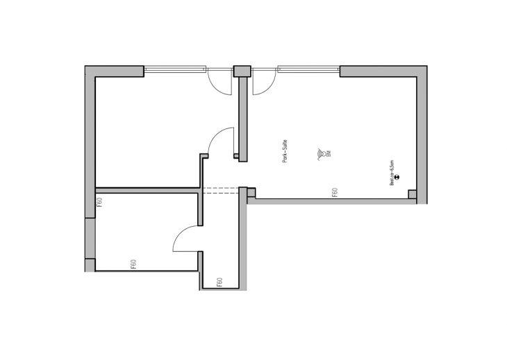 Parkzimmer Grundriss