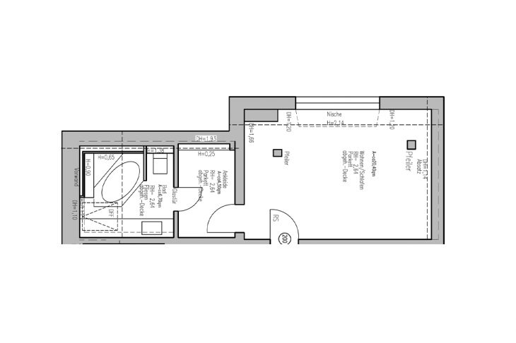 SaarWellness Doppelzimmer Grundriss