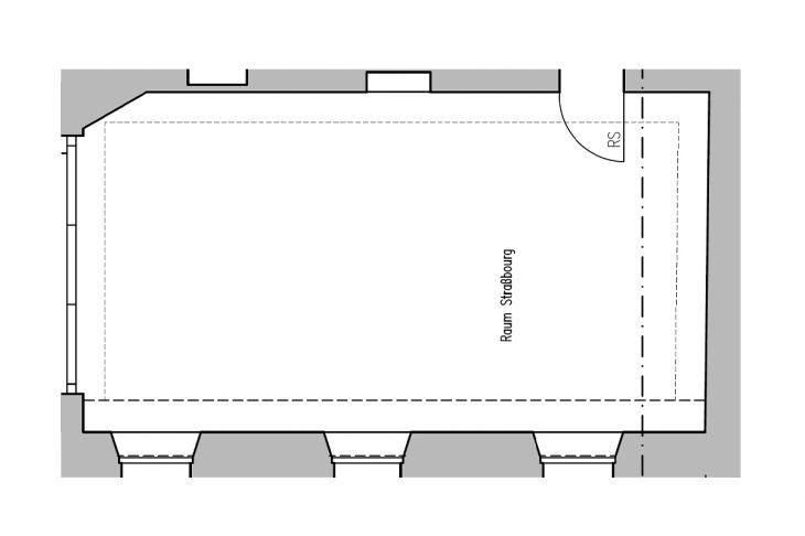 Werkraum 1 Grundriss