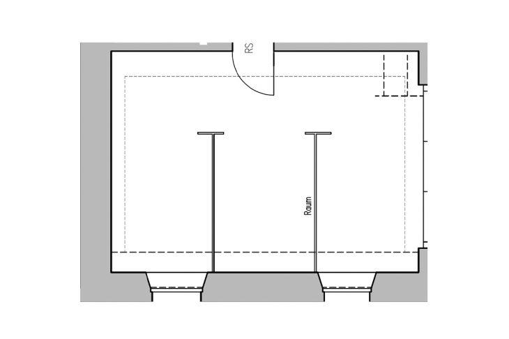 Werkraum 2 Grundriss
