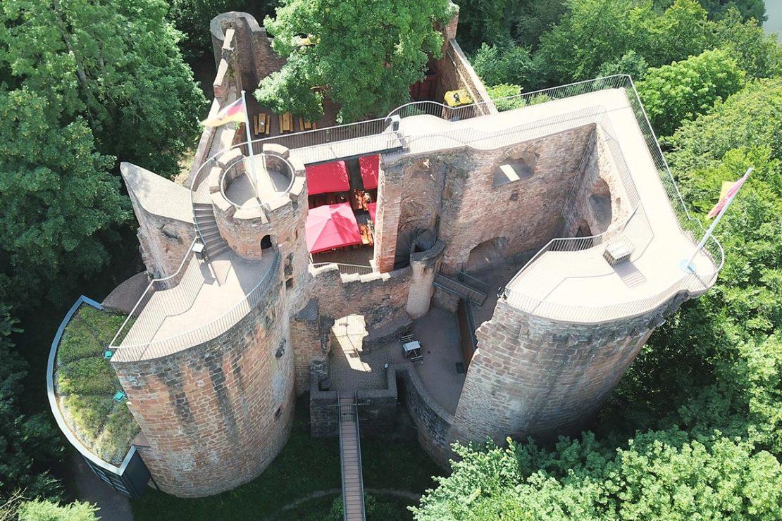 Burg Montclair Saarland