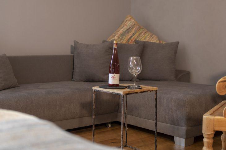 Landbursche 28 qm Wein Wohnbereich