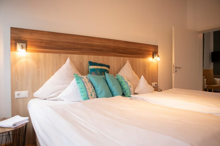 Landbursche Suite Doppelbett